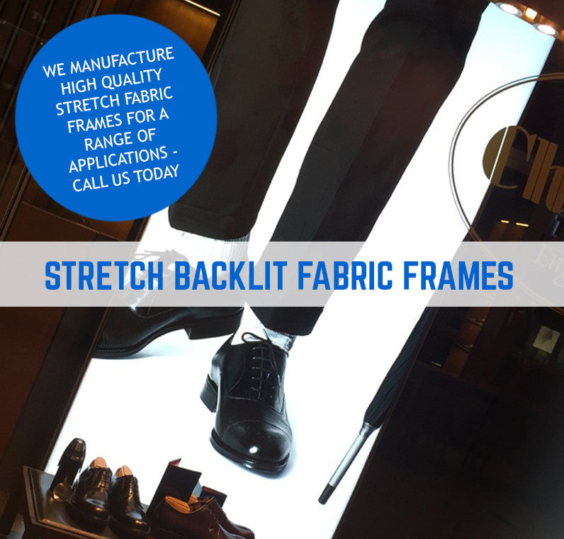 TENSION FABRIC FRAME BACKLIT FABRIC PRINTING