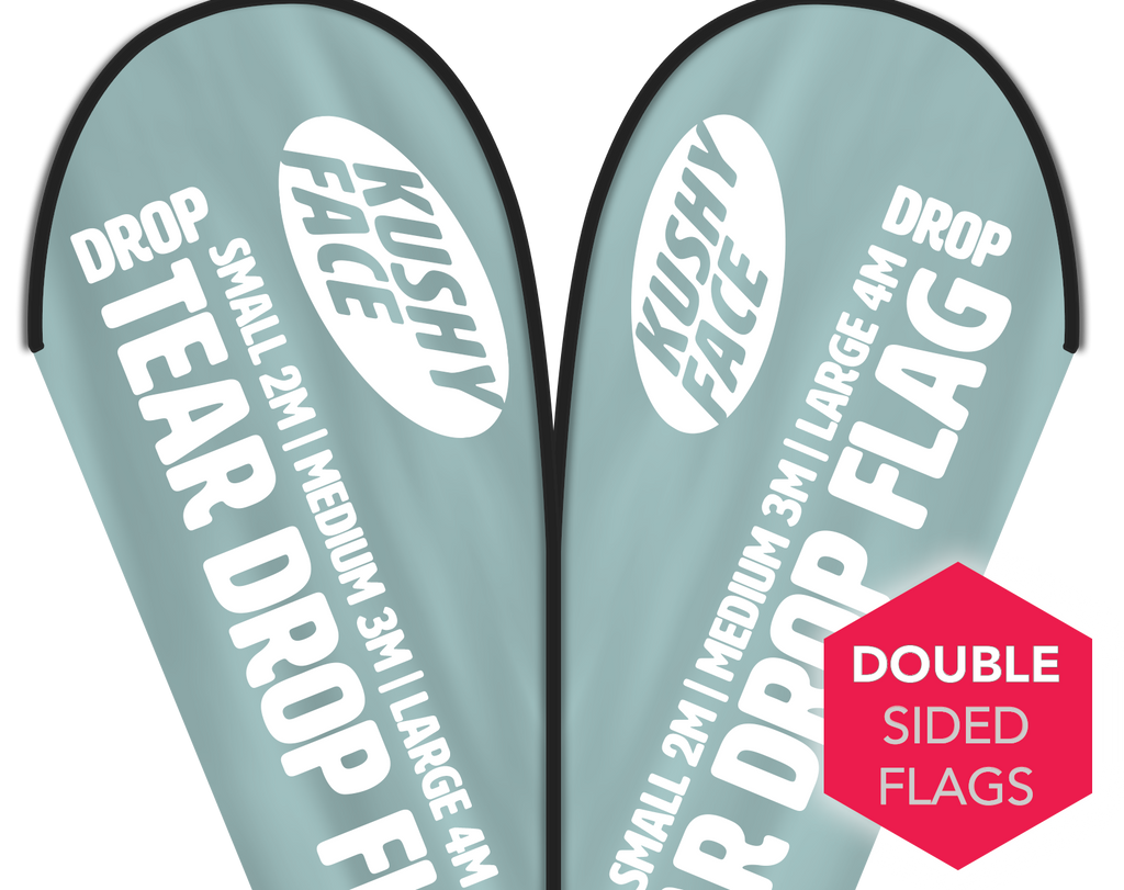 Teardrop Flags