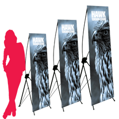 Hawk X Tension Banner | Replacement Switchable Graphic Panels