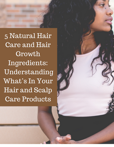 5 Natural Hair Care Ingredients For Healthy Curl