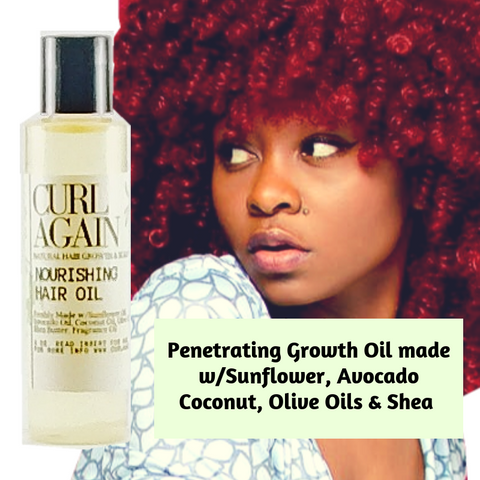 Hair Growth Oil Penetrating Hair Shaft Black African American Men Women Children Ha