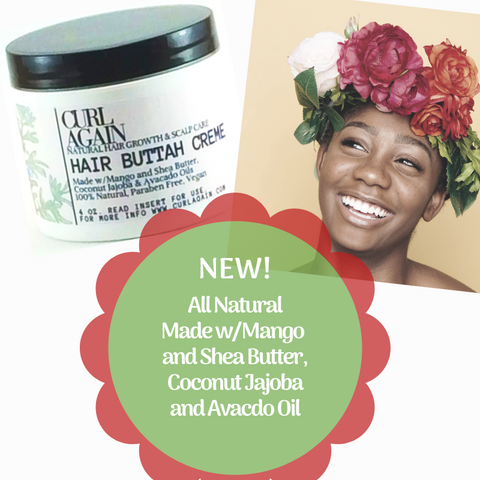 4C 4B 4A Natural Hair Butter Mango Shea Coconut Jajoba for black dry hair