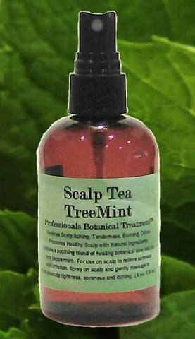 Scalp Tea TreeMint Anti Itch Healing Spray Soothes Inflammation Burning Dryness