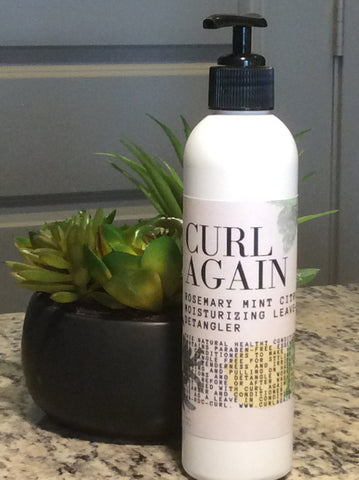 Curl Again Conditioning Hair Detangler for black african american hair growth per year before and after one month 3 months 6 months one year