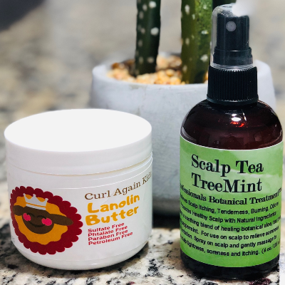 Eczema Treatment Natural Healing Set for At Home Care Cure