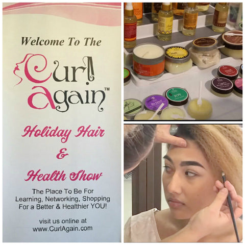 Curl Again Holiday Hair and Health Show November 12 2016 Free To Public