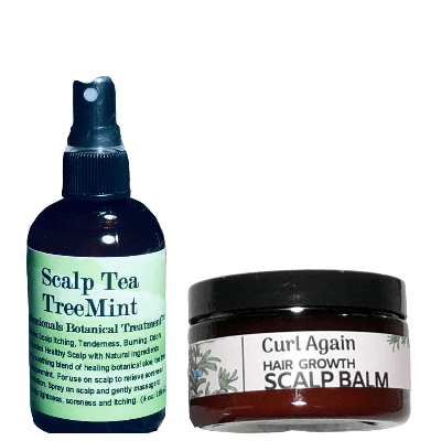 Scalp Care Products | 2 PIECE SCALP SPRAY & BALM TREATMENT SET - Curl Again