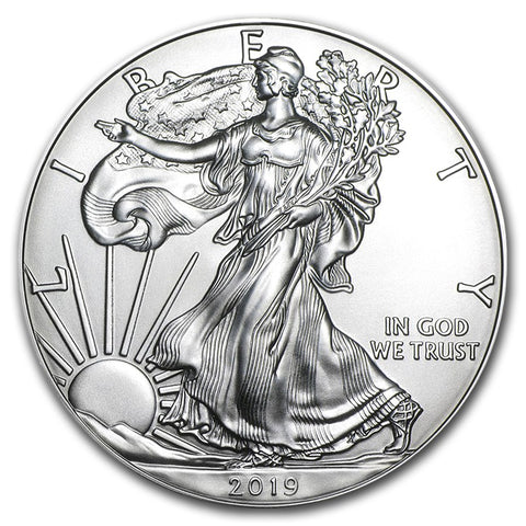 2019 1oz American Eagle Silver Coin