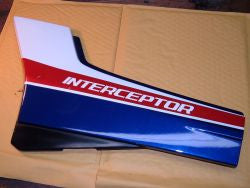 1985 Honda VF700 Interceptor Side Plate Side Cover Left L