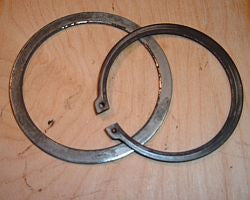 1977 Honda CB400 Super Sport  REAR SPROCKET SPACER AND CLIP