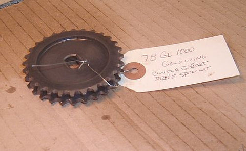 1978 Honda GL1000 Goldwing SPROCKET OIL PUMP