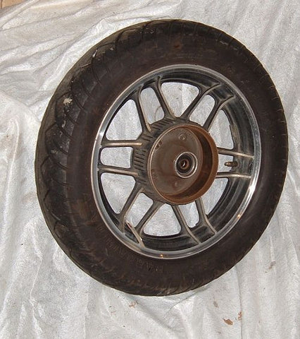 1985 Honda CB650 Nighthawk REAR WHEEL