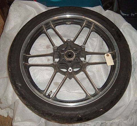 1985 Honda CB650 Nighthawk FRONT WHEEL