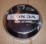 1982 Honda CB650 Nighthawk LEFT SIDE COVER CHROME
