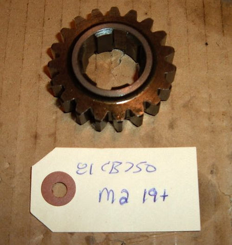 1981 Honda CB750 Super Sport TRANSMISSION 2ND MAIN SHAFT GEAR