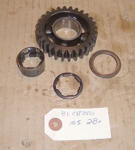 1981 Honda CB750 Super Sport TRANSMISSION M-5 5th MAINSHAFT GEAR
