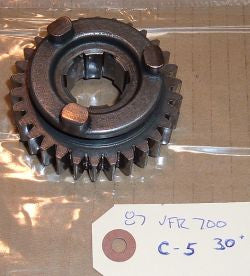 1987 Honda VFR700 Interceptor COUNTERSHAFT GEAR (30T) 5TH