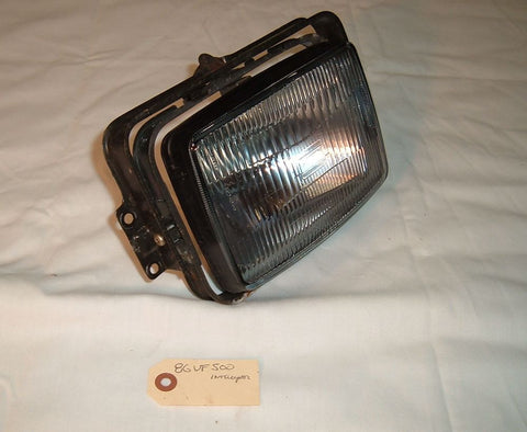 1986 Honda VF500 Headlight, Head Lamp
