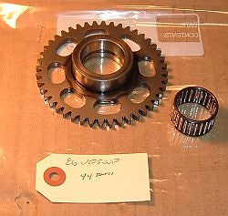 1986 Honda VF500 Interceptor STARTER GEAR W BEARING 44 TOOTH