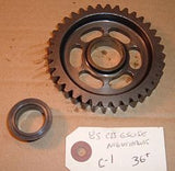 1985 Honda CB650 Nighthawk TRANSMISSION COUNTER SHAFT GEAR