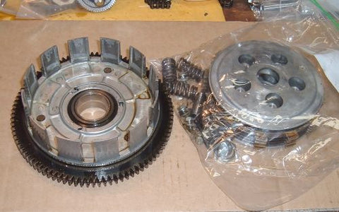 1985 Honda CB650 Nighthawk CLUTCH OUTER BASKET DISC PLATES