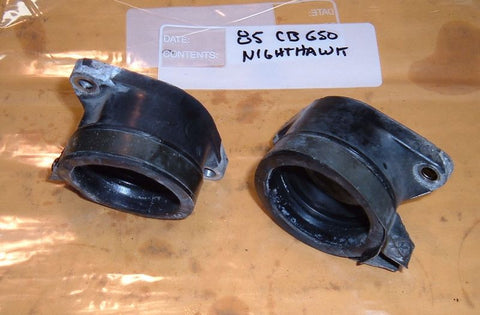 1985 Honda CB450 Nighthawk INSULATOR, CARBURETOR