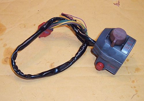 1985 Honda CB450 Nighthawk BAR CONTROL RIGHT SIDE START KILL SWITCH