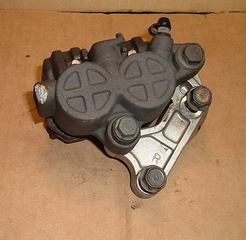 1985 Honda VF500 Interceptor FRONT BRAKE CALIPER RIGHT SIDE