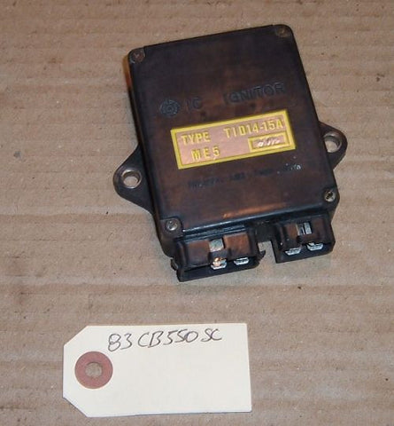 1983 Honda CB550 Nighthawk CDI IGNITOR IGNITION BOX IGNITION CONTROL MODULE - ME-5 T12 15A 302