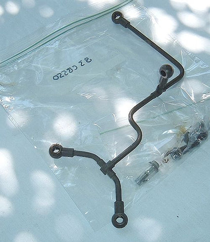 1983 Honda CB550 Nighthawk UPPER OIL FEED PIPE TUBE