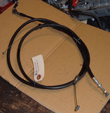 1982 Honda CB650 Nighthawk throttle Cables A B