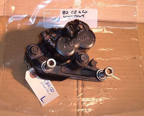 1982 Honda CB650 Nighthawk Front Brake Caliper Left L