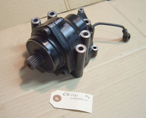 1984 Honda CB650 Nighthawk Side Gear Case Transfer