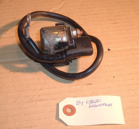 1984 Honda CB650 Nighthawk Starter Solenoid Relay Switch w Fuse