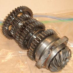 1984 Honda CB700 Nighthawk Transmission Countershaft Gear Cluster w Cross Shaft