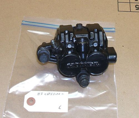 1983 Honda CB550 Nighthawk FRONT BRAKE CALIPER LEFT SIDE