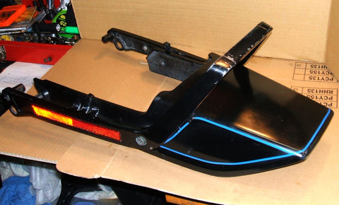 1984 Honda CB700 Nighthawk Rear Cowl Fairing w Grab Rail