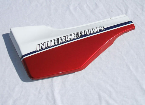 1984 Honda VF700 Interceptor Left Side Cover Side Plate L