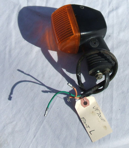 1984 Honda VF700 Interceptor Front Turn Signal Left L