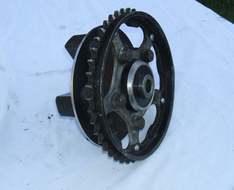 1984 Honda VF700 Interceptor Rear Hub W Sprocket