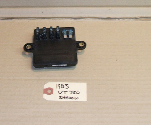 1983 Honda VT750 Shadow Fuse Box Joint Assembly