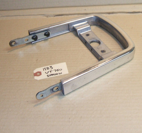 1983 Honda VT750 Rear Grab Rail Upper Sissy Bar