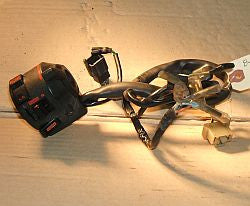 1985 Honda CB700 Nighthawk Left Side Bar Control Turn Signal Horn L