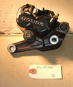 1984 Honda VT700 Shadow Front Brake Caliper Right R