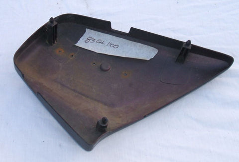 1983 Honda GL1100  LEFT SIDE COVER SIDE PLATE