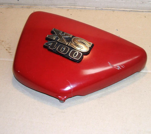 YAMAHA 1978 XS400 SPECIAL SIDE COVER LEFT SIDE PLATE