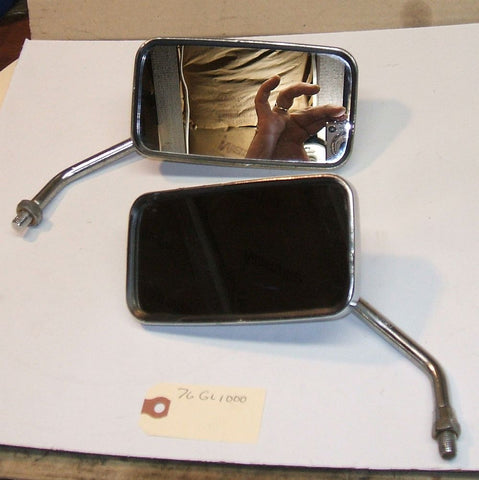 1976 Honda GL1000 Goldwing   Mirror Mirrors R L Right Left