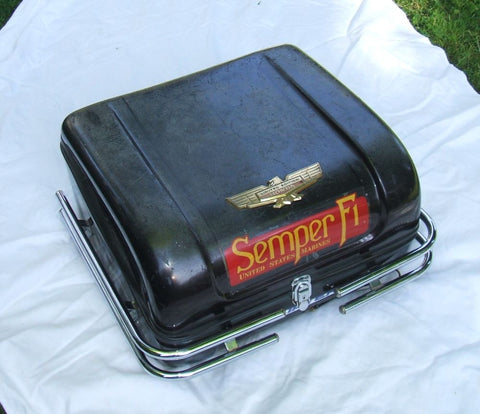 1976 Honda GL1000 Goldwing REAR LUGGAGE TRUNK