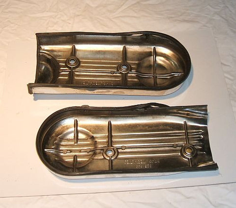1976 Honda GL1000 Goldwing CHROME TIMING BELT COVERS