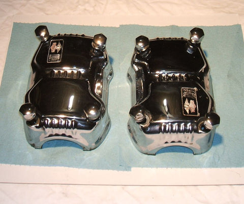1976 Honda GL1000 Goldwing CHROME CYLINDER HEAD COVERS